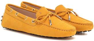 Tod's Gommino nubuck loafers