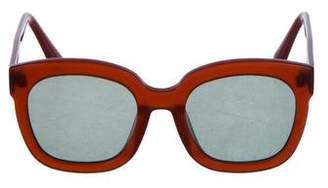 Gentle Monster Oversize Tinted Sunglasses