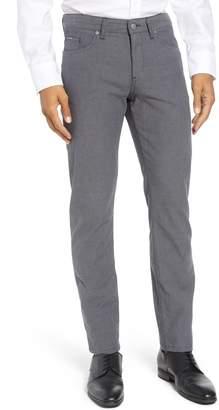 BOSS Delaware Slim Fit Herringbone Pants