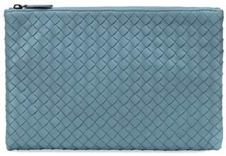 Bottega Veneta Small intrecciato leather wallet