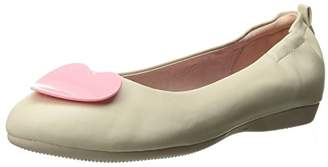 Couture Pin Up Women's Olive-05 Ballet Flat
