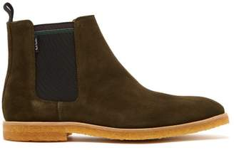 Paul Smith Andy Suede Chelsea Boots - Mens - Khaki