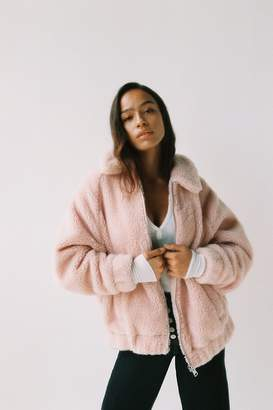 Urban Outfitters I.AM.GIA + Pixie Teddy Coat