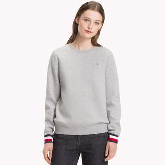Tommy Hilfiger Stripe Cuff Sweatshirt