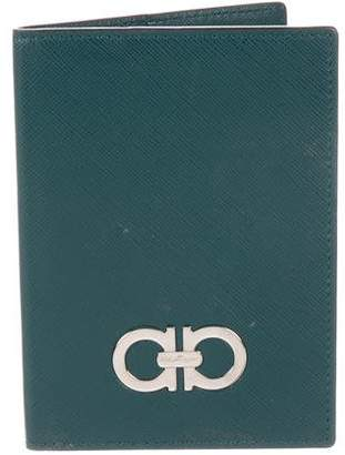 Salvatore Ferragamo Gancini Passport Cover