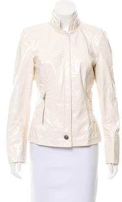 Dolce & Gabbana Coated Long Sleeve Jacket