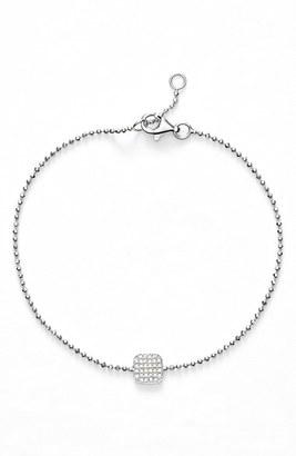 Women's Bony Levy 'Aurora' Diamond Pave Square Bracelet (Nordstrom Exclusive) $595 thestylecure.com