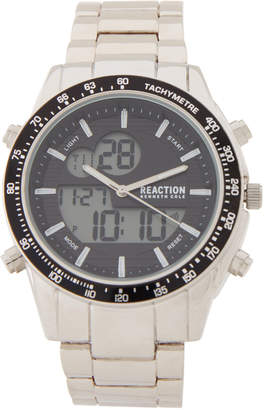 Kenneth Cole Reaction RK50639004 Silver-Tone Analog-Digital Watch