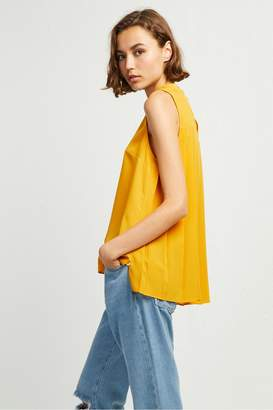 French Connenction Crepe Light High Neck Top