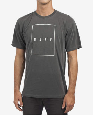 Neff Men's Rectangle Logo T-Shirt