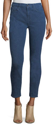 7 For All Mankind Jen7 By Tonal-Print Riche-Touch Jeans