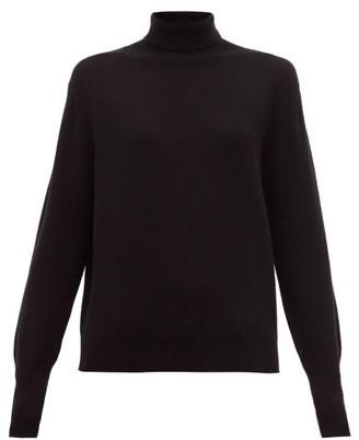 Nili Lotan Ralphie Roll Neck Cashmere Sweater - Womens - Black