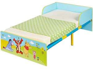 Winnie The Pooh Toddler Bed & Deluxe Foam Mattress