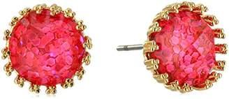 """ABS by Allen Schwartz Venice Beach"""" Pierced Stud Earrings"""