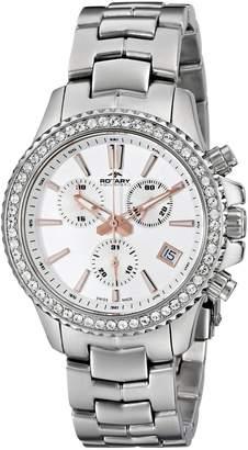 Rotary Women's alb90086/c/01 Analog Display Swiss Quartz Watch