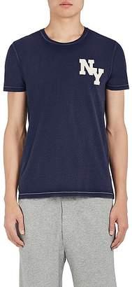 "Barneys New York Men's ""NY"" Washed Cotton T-Shirt"