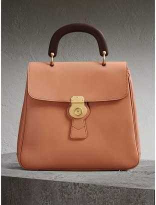 Burberry The Large DK88 Top Handle Bag, Orange