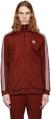 adidas Red Franz Beckenbauer Track Jacket