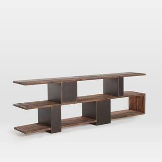 west elm Staggered Metal + Wood Media Console