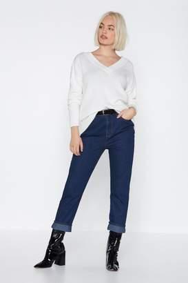 Nasty Gal Leg It Straight-Leg Jeans
