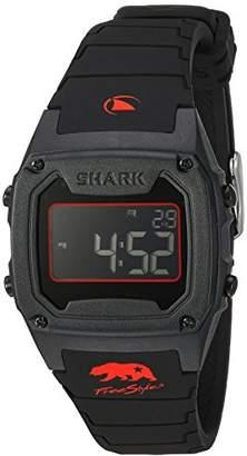 Freestyle (フリースタイル) - [フリースタイル]Freeestyle 腕時計 SHARK CLASSIC SILICONE デジタル 100m防水 シリコンベルト ブラック レッド 10027426 【正規輸入品】