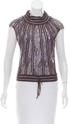 Mayle Sheer Lace Top
