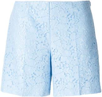Blugirl floral lace shorts
