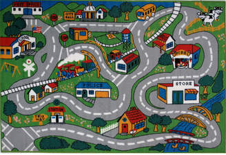 Fun Rugs Fun Time Country Fun Kids Rug Rug
