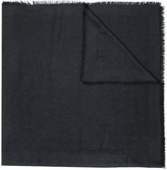 MCM frayed edge scarf