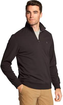 Izod Men's Advantage SportFlex Performance Stretch Fleece Quarter-Zip Pullover