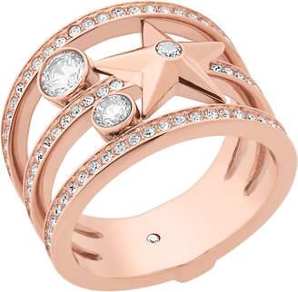 Michael Kors Celestial rose gold-toned ring