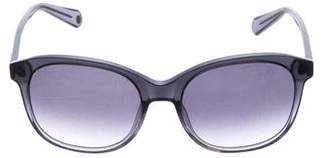Balmain Gradient Oversize Sunglasses