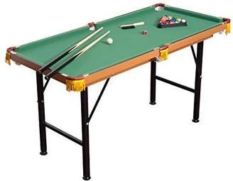 Mini A Ture HomCom Folding 2.1' Miniature Billiards Pool Table