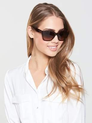 Burberry Angular Sunglasses - Tortoiseshell