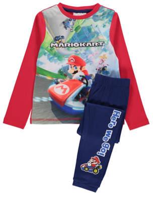 George Mario Kart Graphic Pyjamas