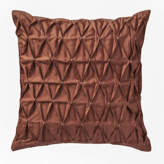 Marquis by Waterford Devlin woven scallop body 16x16 Decorative Pillow