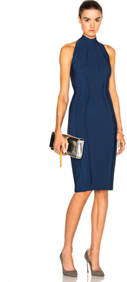 Mugler Sleeveless Mega Milano Dress $1,905 thestylecure.com