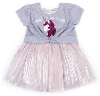 Little Lass Unicorn Tulle Dress (Little Girls)