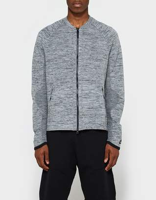 Nike Tech Knit Jacket in Carbon Heather