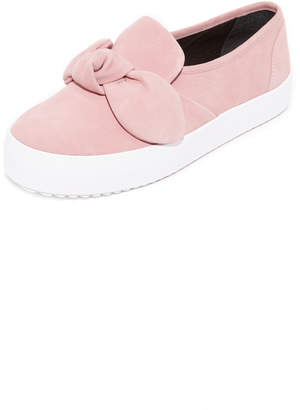 Rebecca Minkoff Stacey Suede Sneakers $130 thestylecure.com