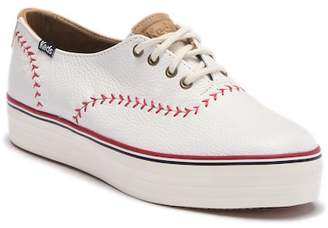 Keds Triple Pennant Leather Sneaker