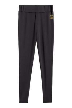 H&M Jersey Leggings - Black - Women
