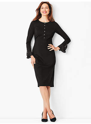Talbots Refined Ponte A-Line Dress