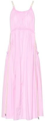 Lee Mathews Elsie cotton-blend maxi dress