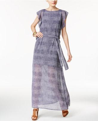 MICHAEL Michael Kors Zephyr Printed Maxi Dress $165 thestylecure.com