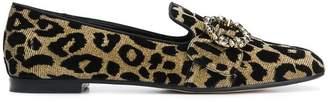 Dolce & Gabbana embellished Jackie slippers