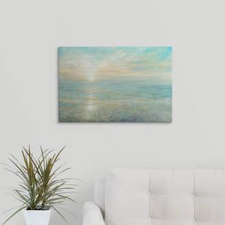 Great Big Canvas 'Sunrise' Danhui Nai Painting Print Format: Black Frame,