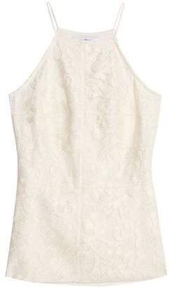 Bailey 44 Naomi Corded Lace And Stretch-Jersey Top