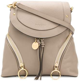 See by Chloe Olga structured backpack