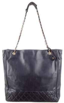 bf574326b336 Chanel Blue Open Top Handbags - ShopStyle